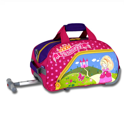 J World New York Rolling Kids Luggage