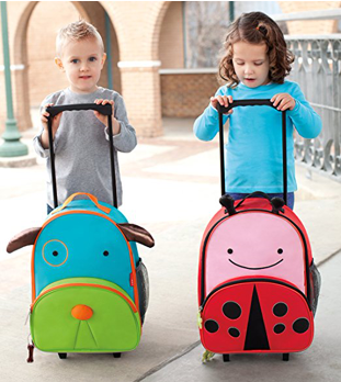 Skip Hop Kid's Travel Rolling Luggage