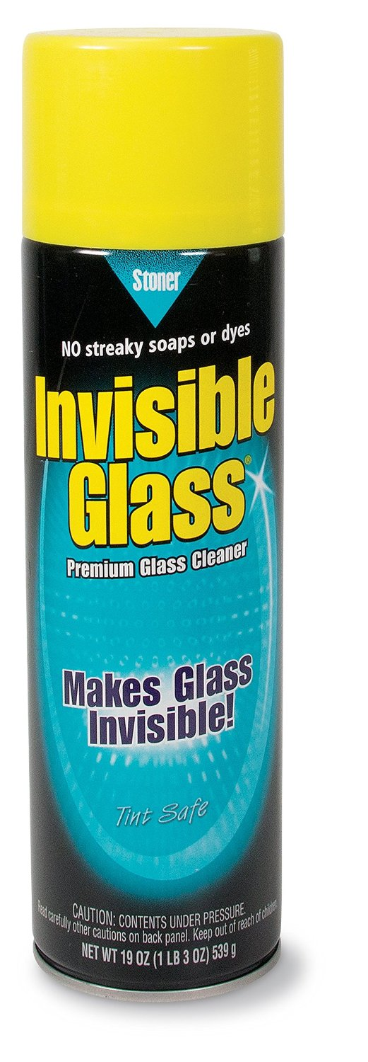 Invisible Glass Premium Ammonia Free Foam Glass Cleaner for Auto and Home – Safe for Tinted and Non-Tinted Windows,