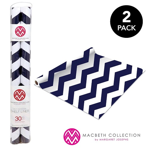 The Macbeth Collection Self Adhesive Shelf Liner