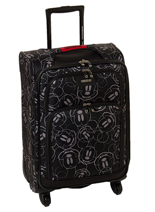 American Tourister Disney Mickey Mouse Multi-Face Softside Spinner Suitcase