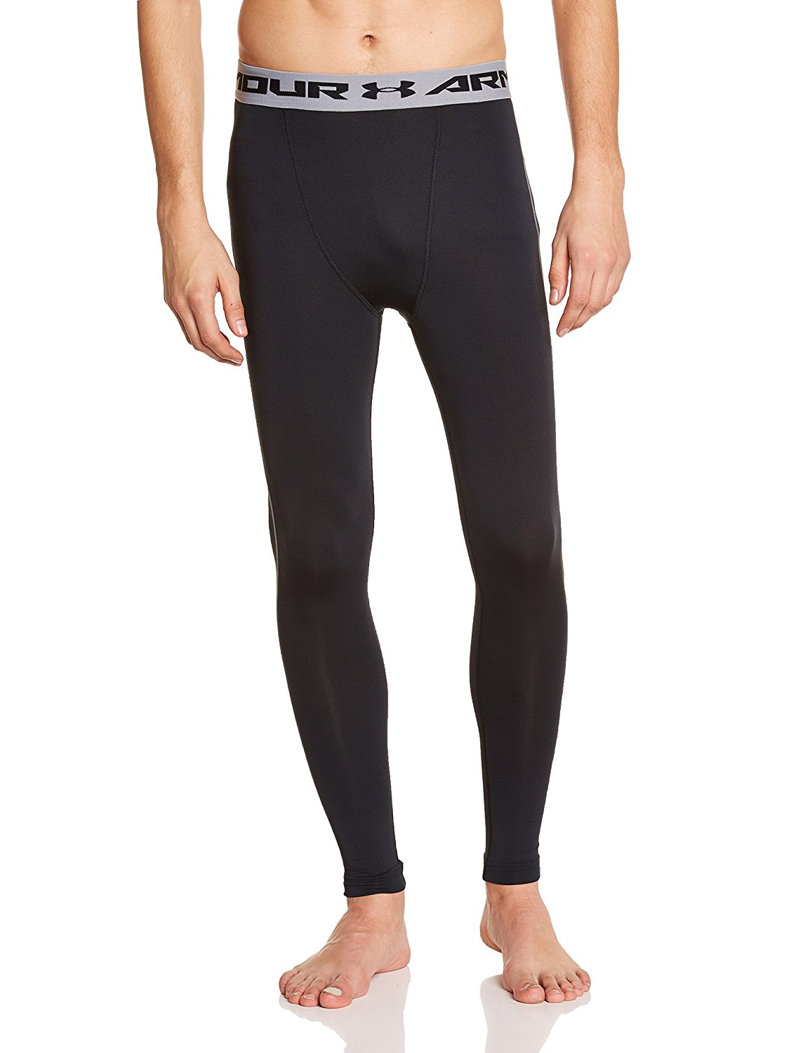 Under Armour Men's HeatGear Armour Compression Leggings – Available in 10 Sizes & 15 Colors