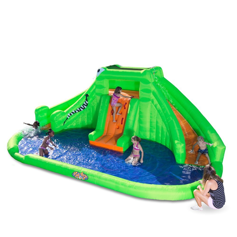 Blast Zone Inflatable Water Park and Slide