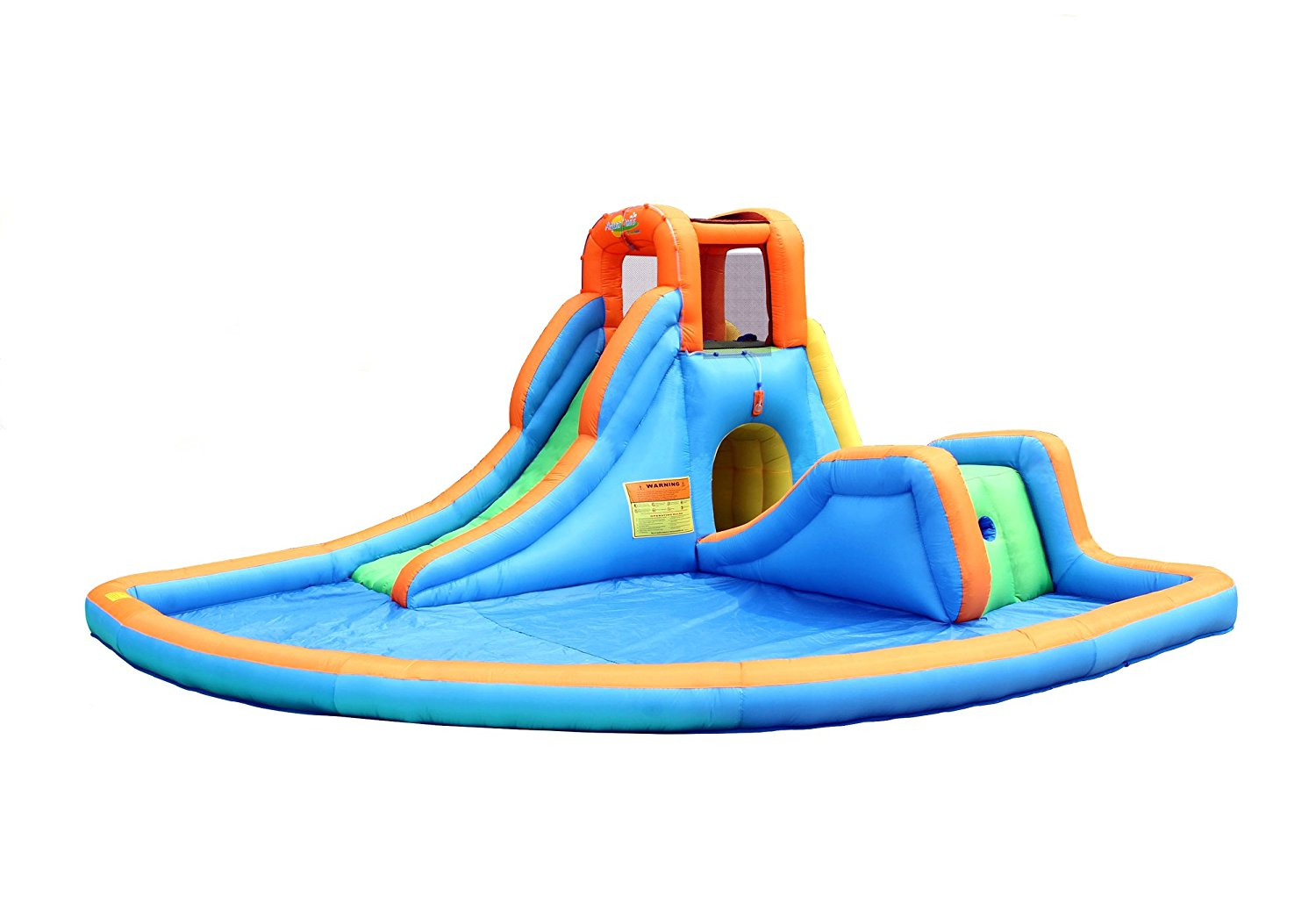 Bounceland Inflatable Cascade Water Slide - Incorporated Pool, Made from Heavy-Duty Puncture Proof Materials