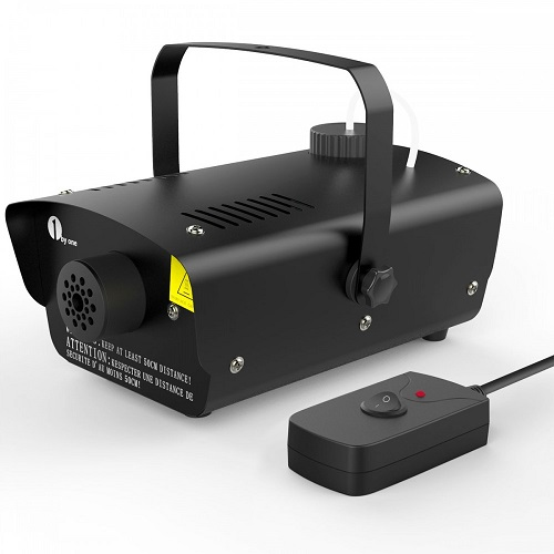 1byone Fog Machine with Wired Remote