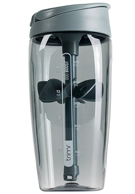 Trimr Duo Boost Shaker Bottle
