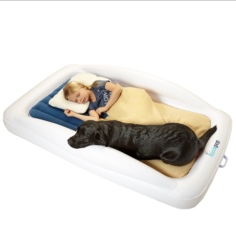 Hiccapop Inflatable Travel Toddler Bed