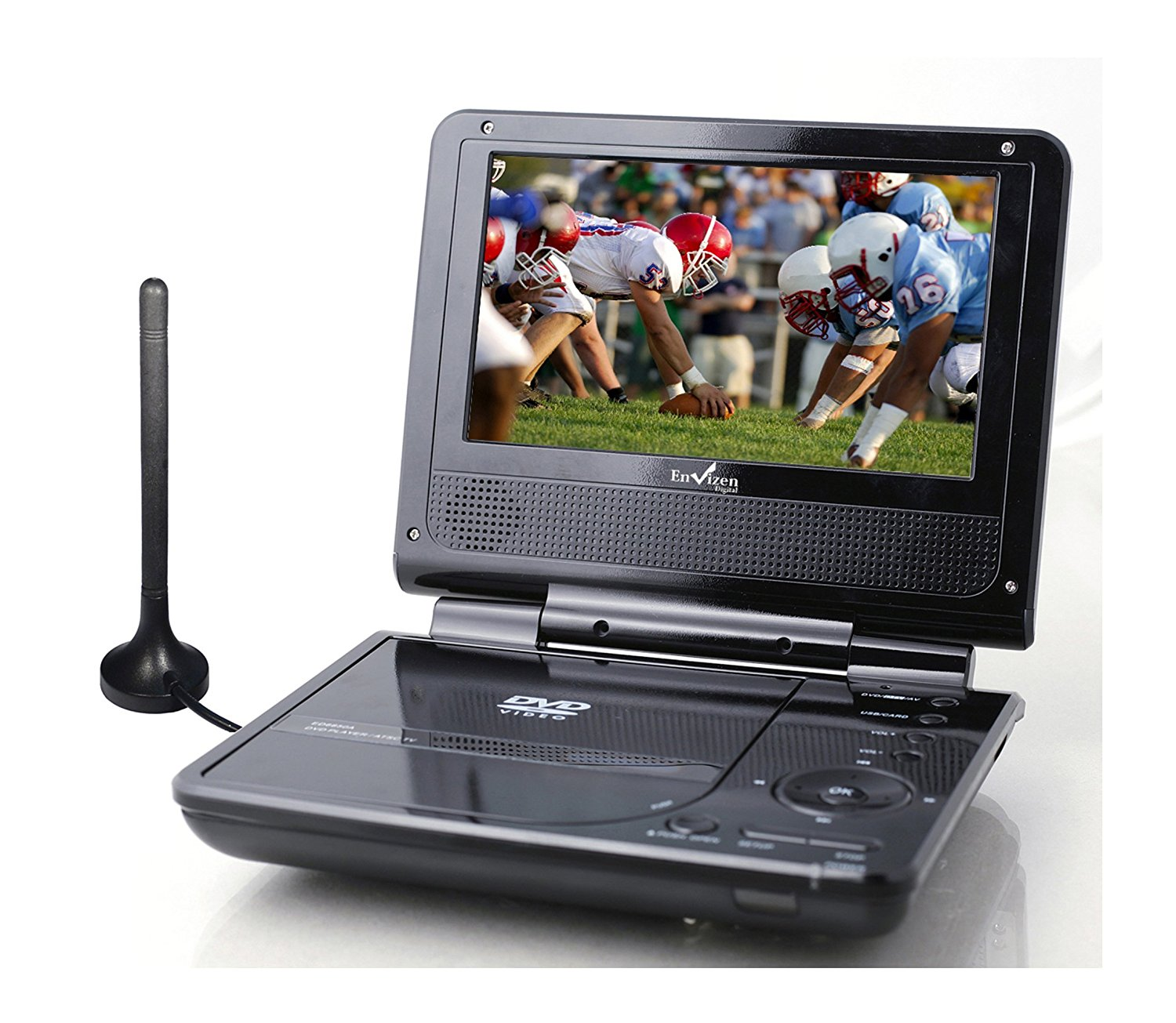 Envizen Digital Portable DVD and TV Player