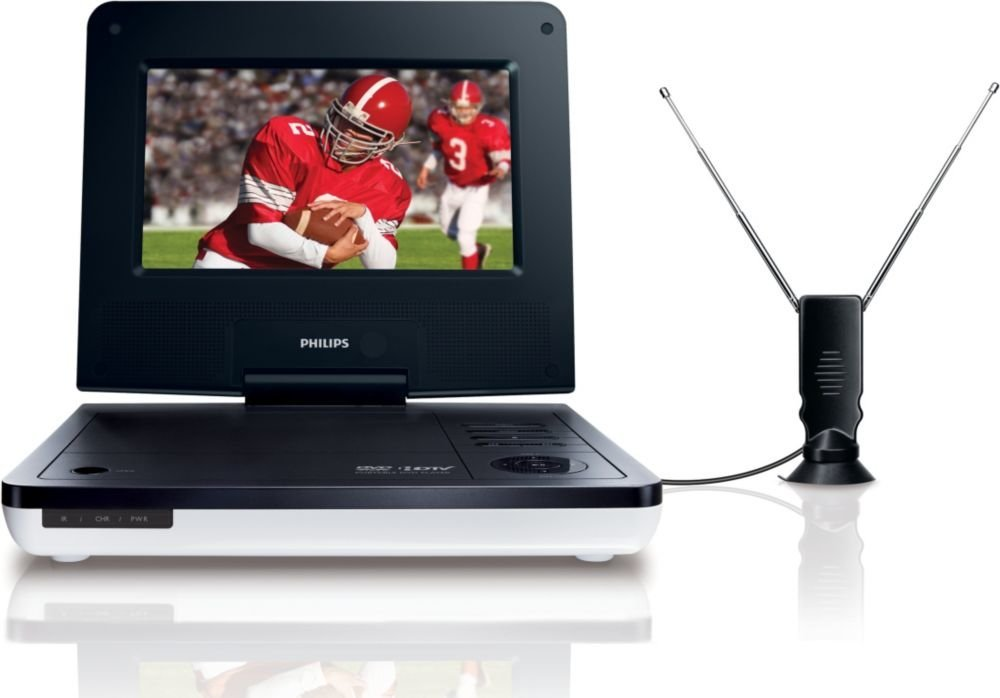 Philips Portable TV and DVD Player