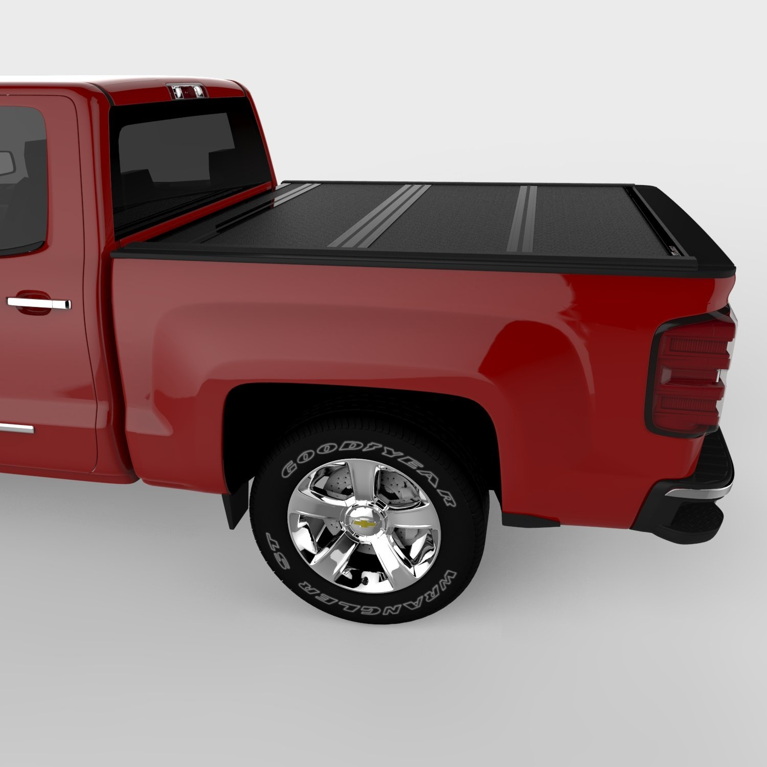 UnderCover Black Ultra Flex Tonneau Cover with Ultra Low Profile Design