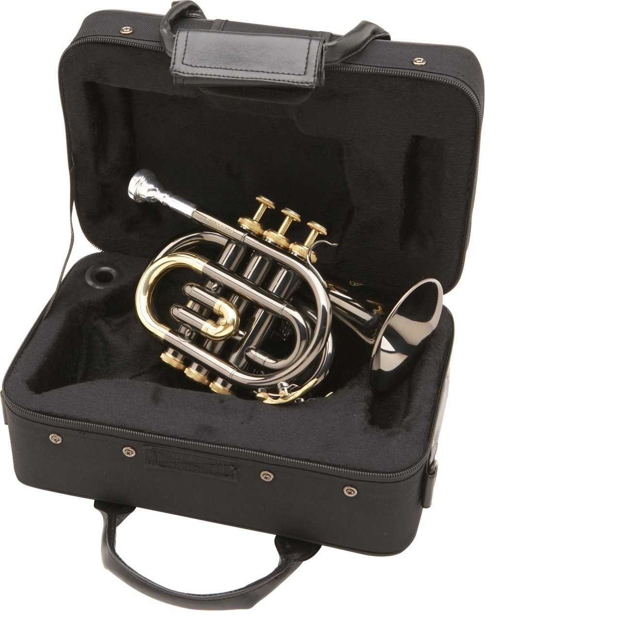 Allora Black Nickel Pocket Trumpet