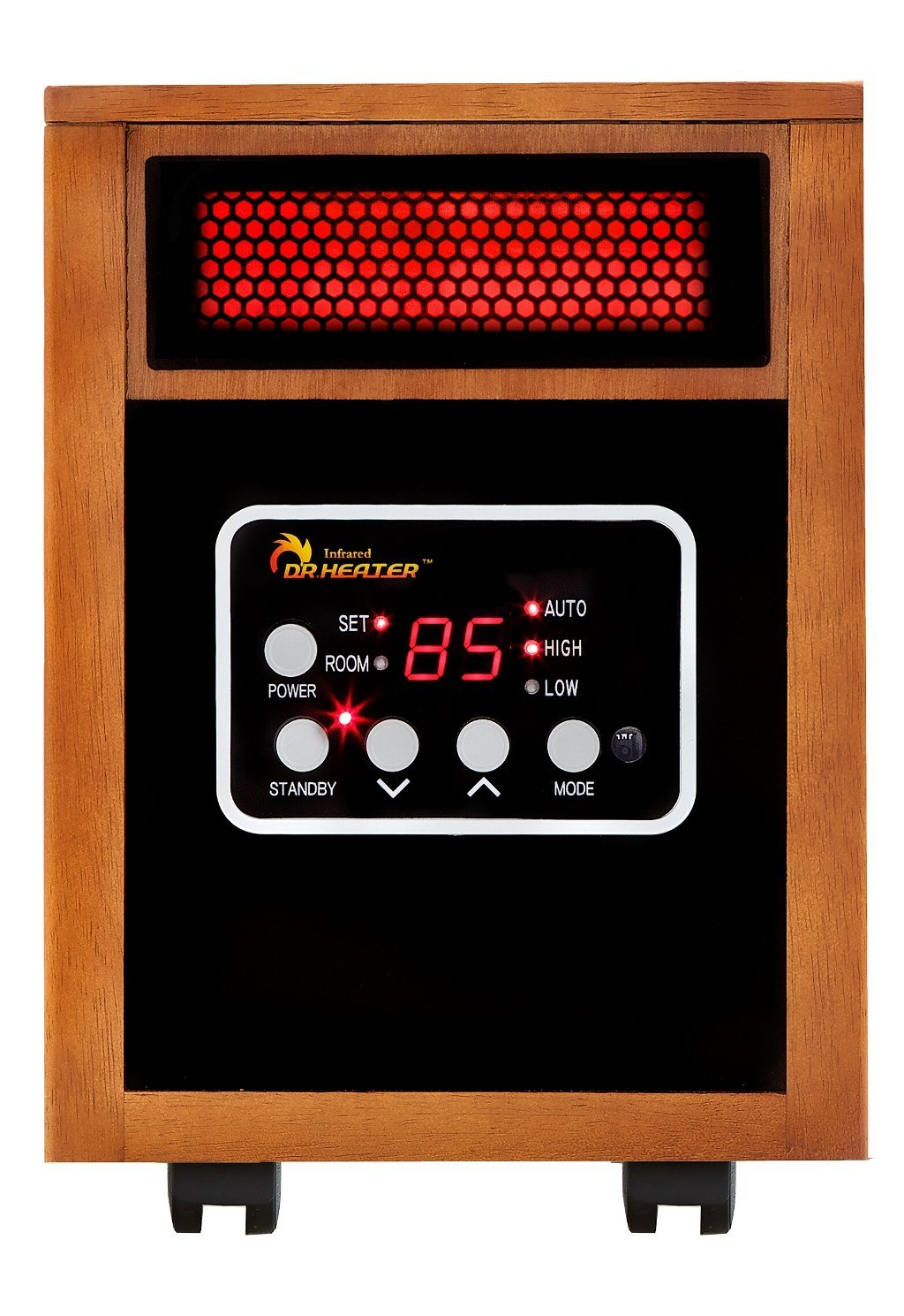 Dr Infrared Heater 1500-Watt Portable Space Heater – Available In 3 Styles