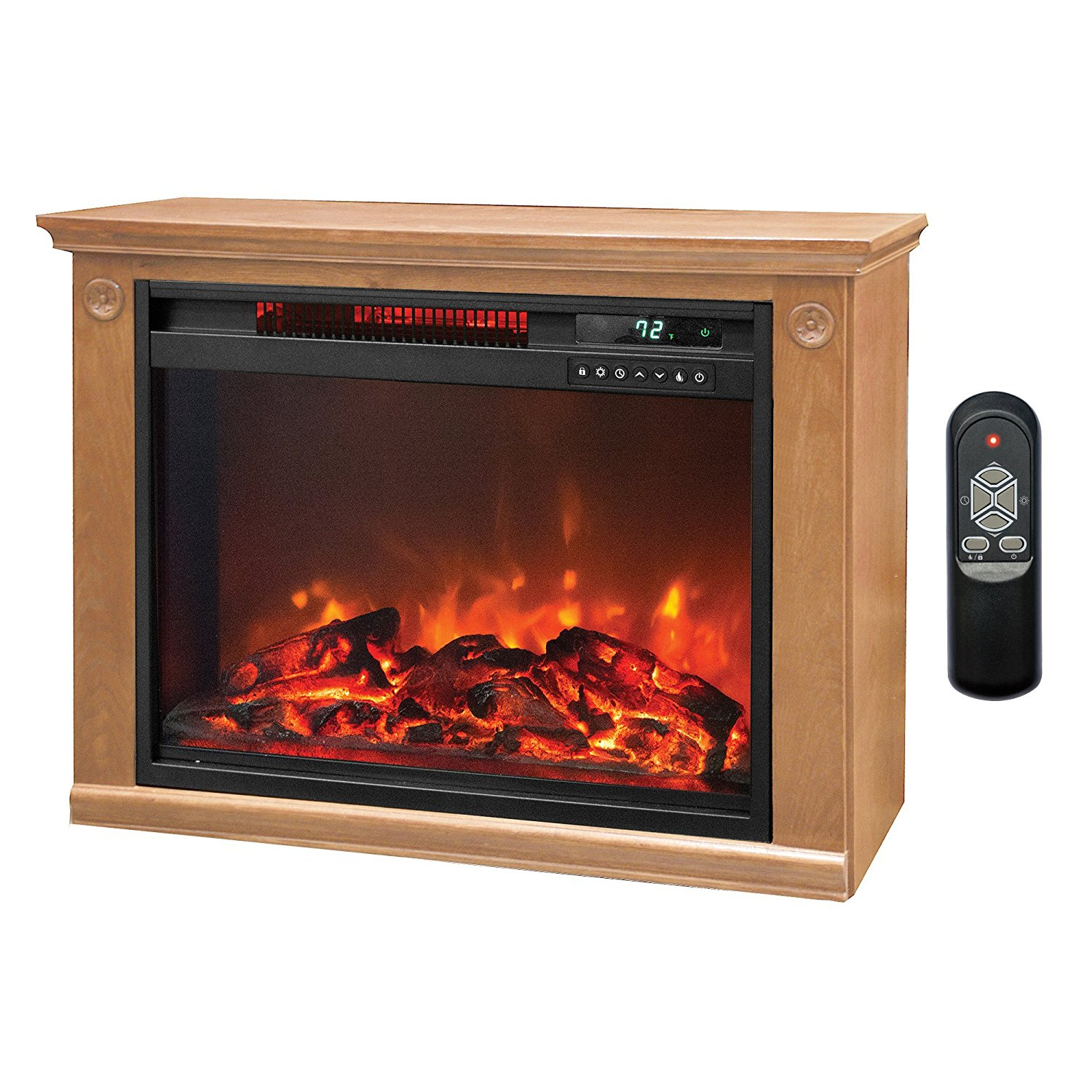 LifePro Electric Infrared Fireplace Heater