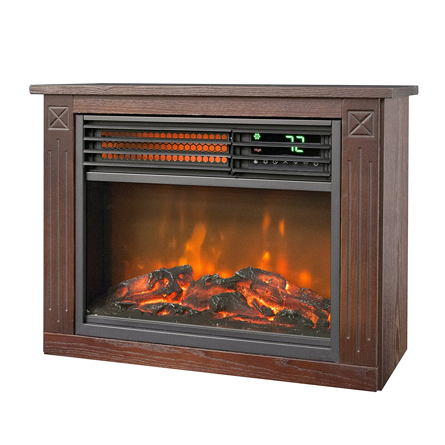 LifeSmart Infrared Fireplace Heater