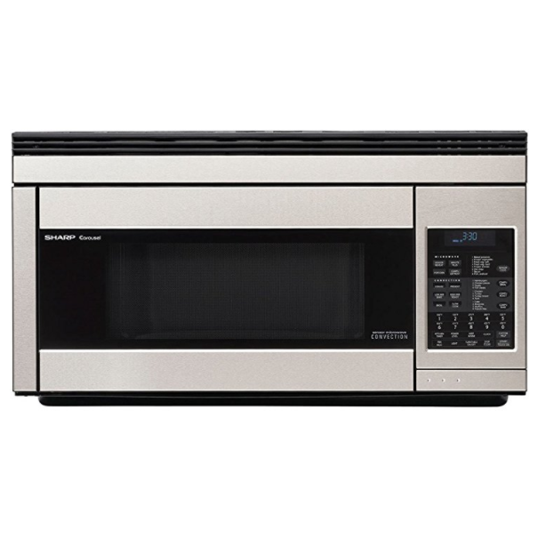 Sharp Carousel 1.1 Cubic Feet Over-The-Range Microwave Oven