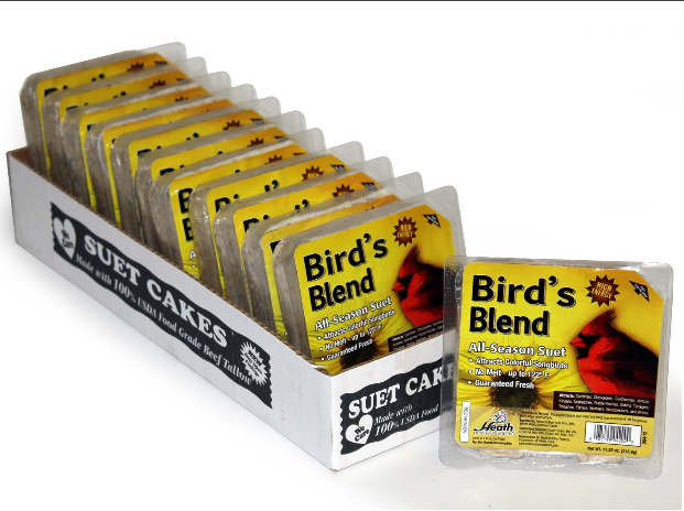 Heath Outdoor Products Birdie's Blend Suet Cake