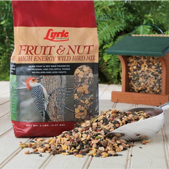 Lyric Fruit & Nut Wild Bird Mix