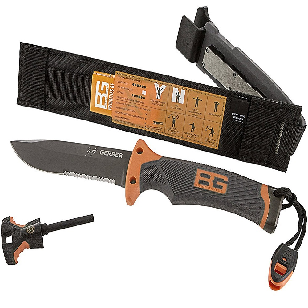 Gerber Bear Grylls Ultimate Serrated Knife
