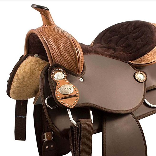 Tahoe Synthetic Basket Weave Saddle