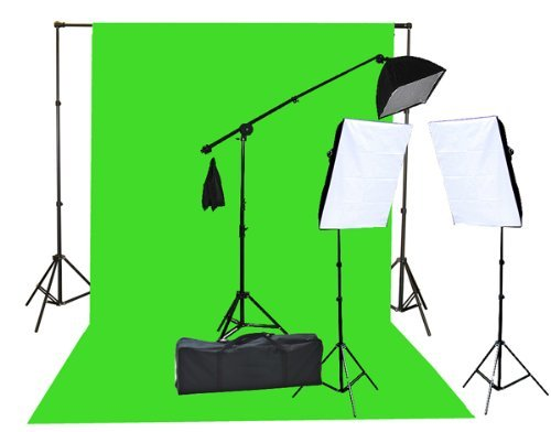 Fancierstudio Green Screen Chromakey Kit
