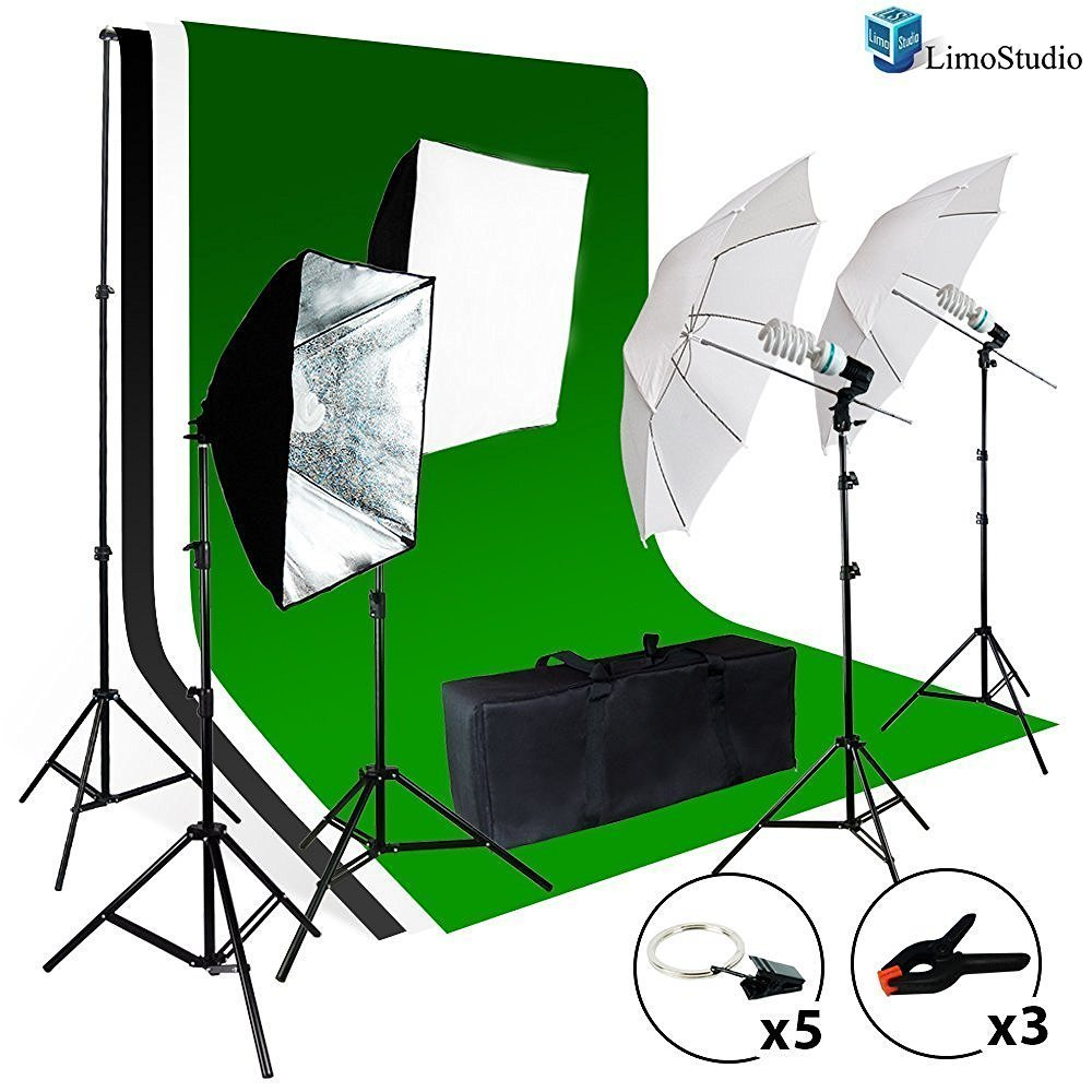 LimoStudio Photo Video Studio Light