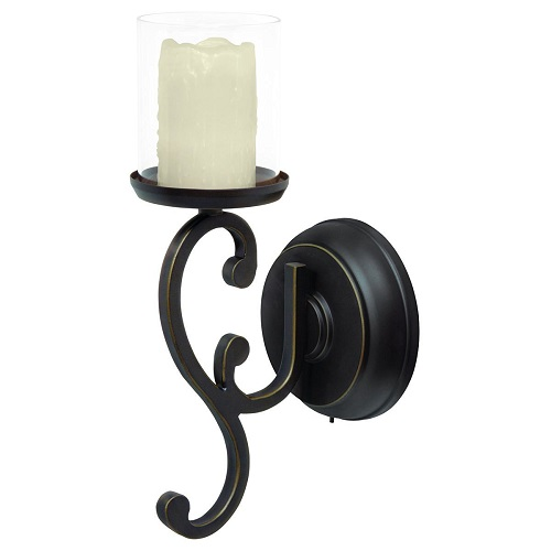 Candle Impressions LED Candle Wall Sconce