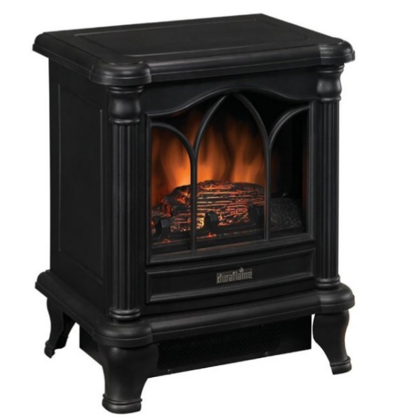 Duraflame Carleton Electric Stove with 4,600 BTU Heater.