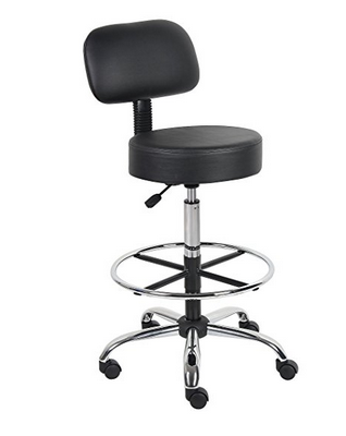 Boss Office Products Caressoft Drafting Chair