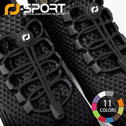 RJ-Sport Elastic No Tie Shoelaces