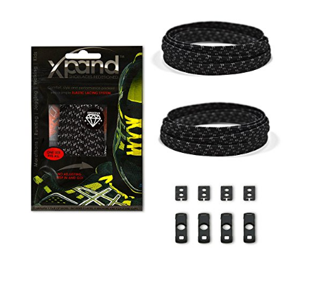 Xpand Elastic No-Tie Shoelaces