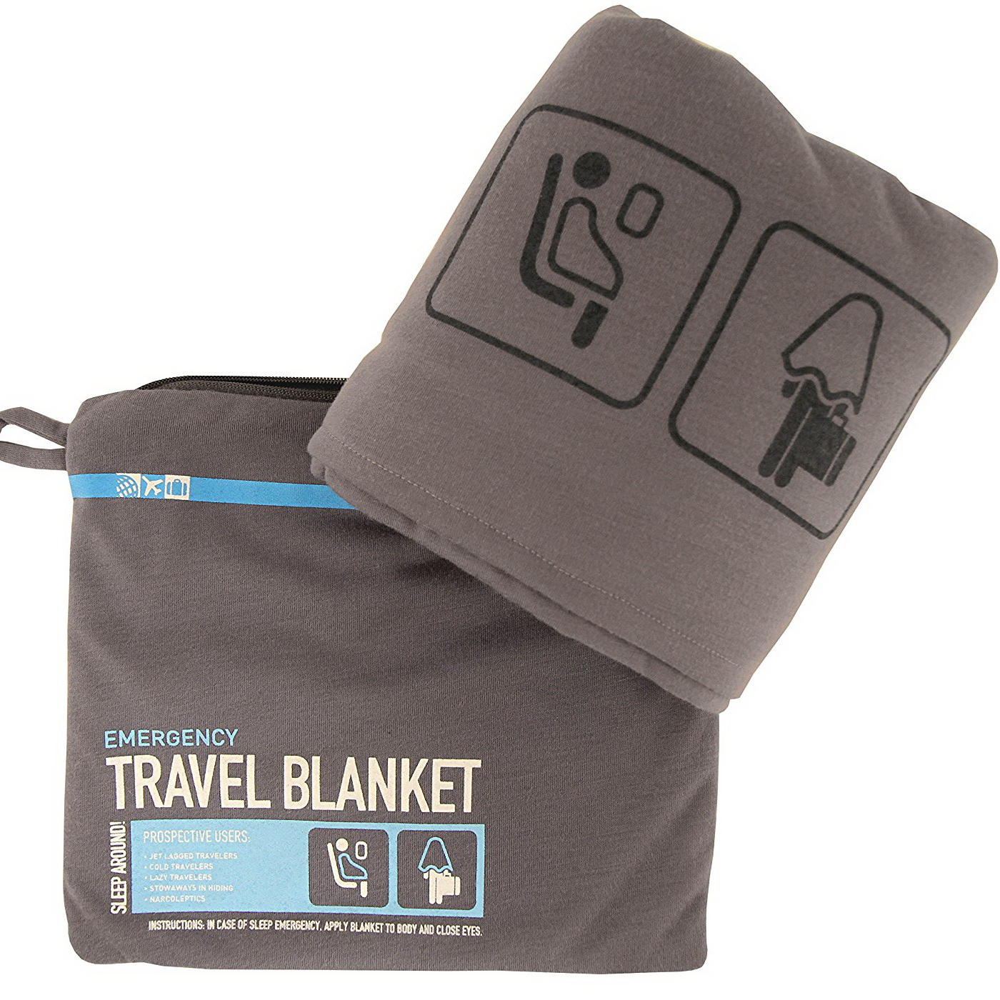 Flight 001 One Size Travel Blanket