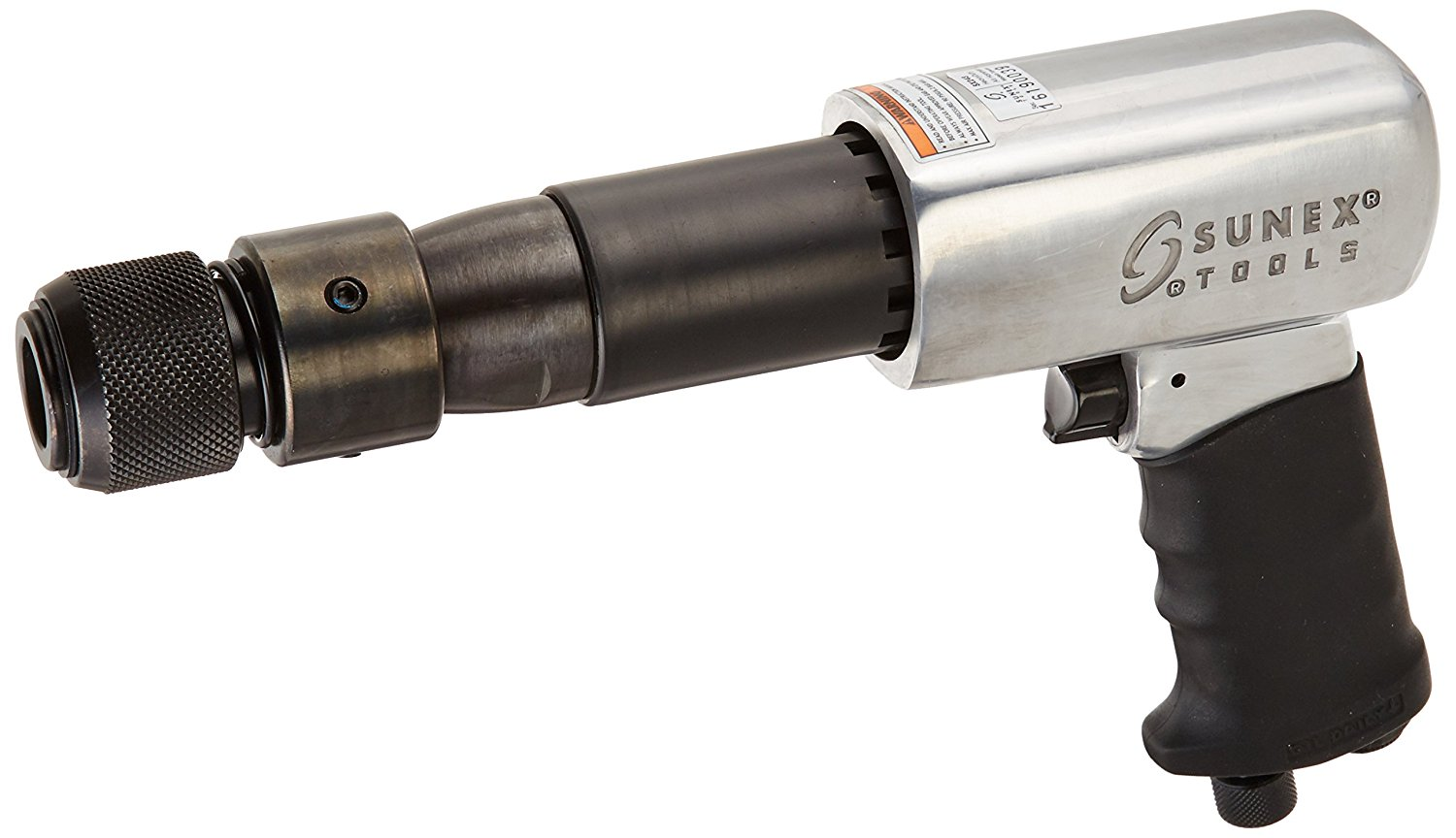Sunex 250-Mm Long Barrel Air Hammer – Aluminum Alloy Construction, Ergonomic Grip