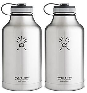 Hydro Flask Water Bottle and Beer Growler