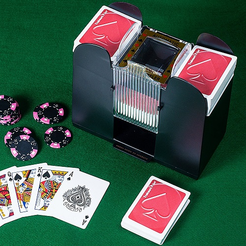 Trademark Poker 6-Deck Card Shuffler