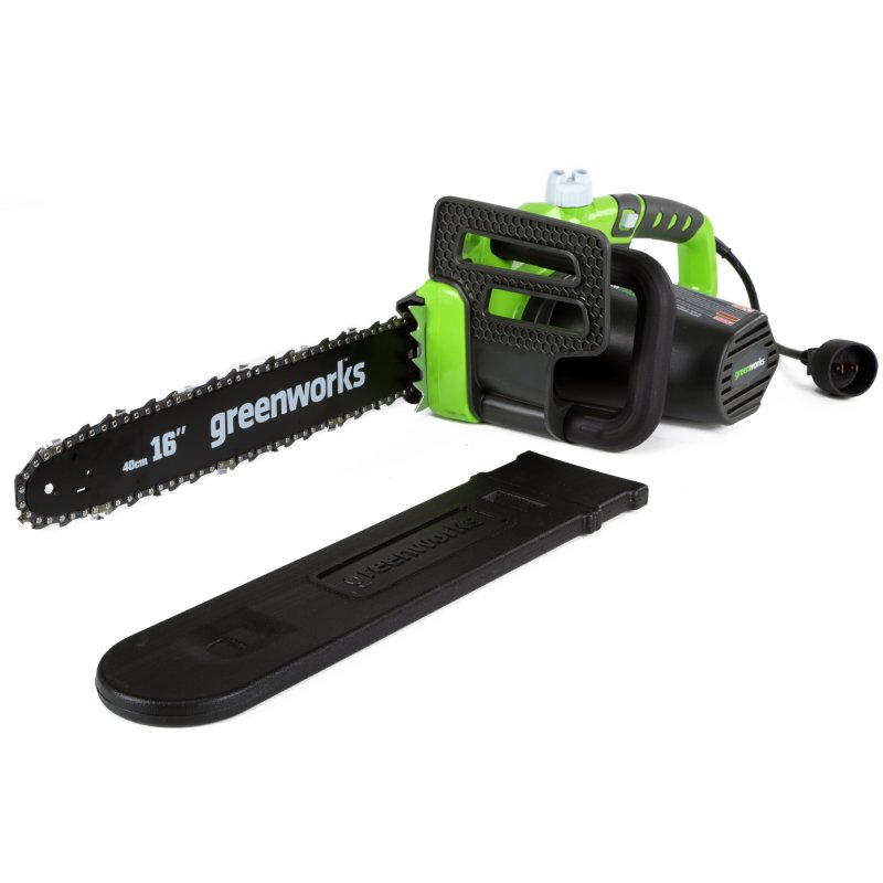 "Greenworks 16"" Corded Chainsaw"