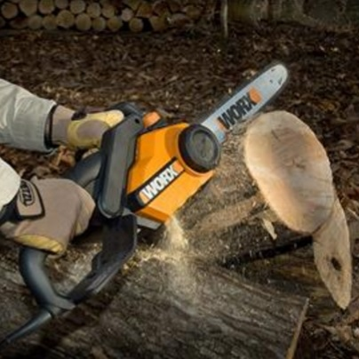 "Worx 16"" Corded Chainsaw"