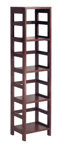 Winsome Wood 4-Shelf Bookcase