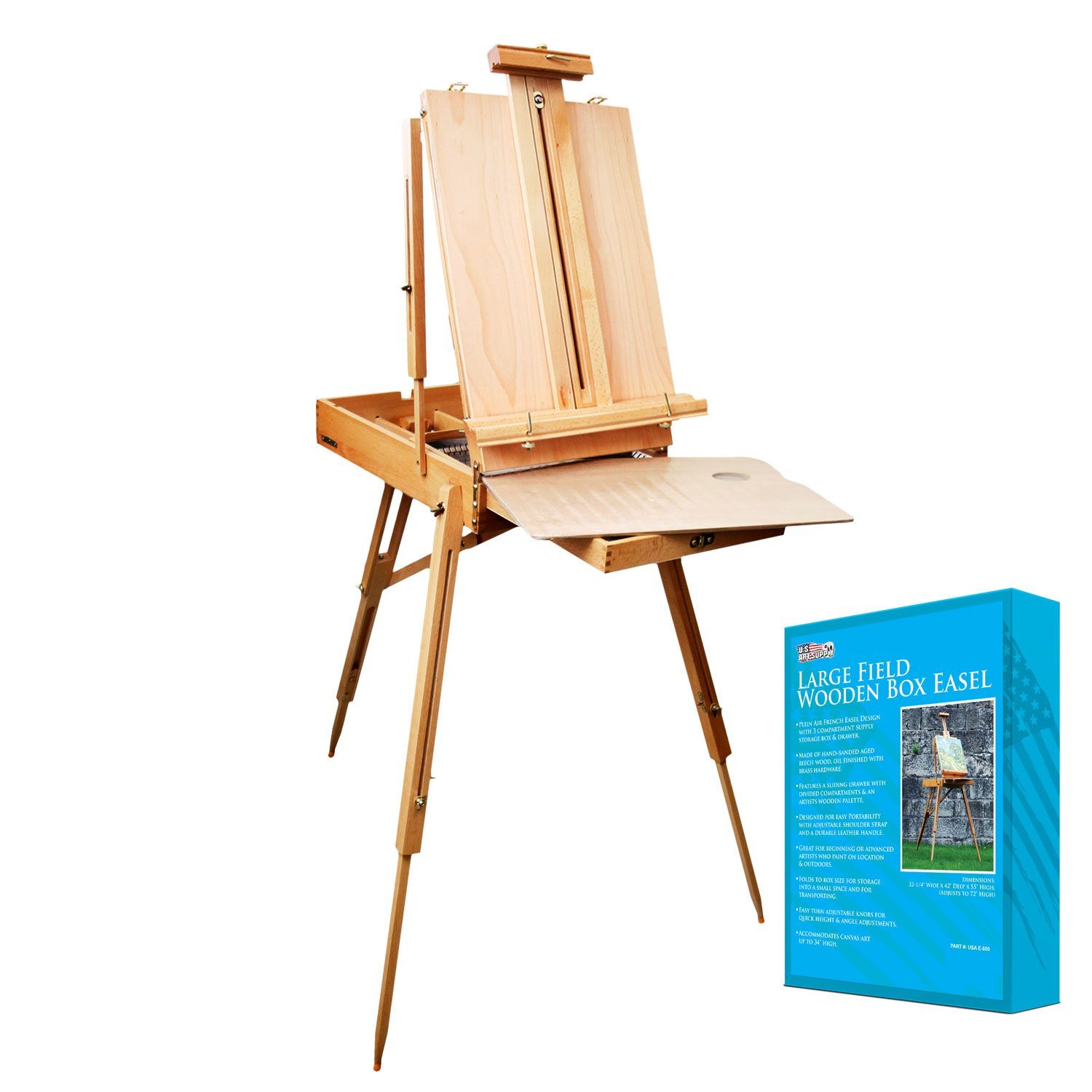 Artist Painting Easel Box Set