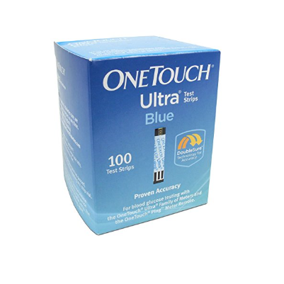 One Touch Ultra Blood Test Strips