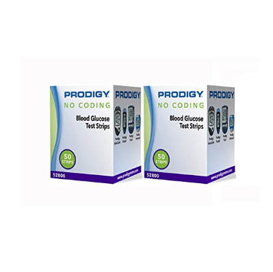 Prodigy Blood Glucose Test Strips