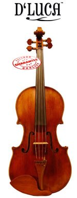 D'Luca 16-Inch Orchestral Series Professional Antique Handmade Full Size Viola