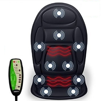 Gideon Vibrating Massage Cushion with eHeat