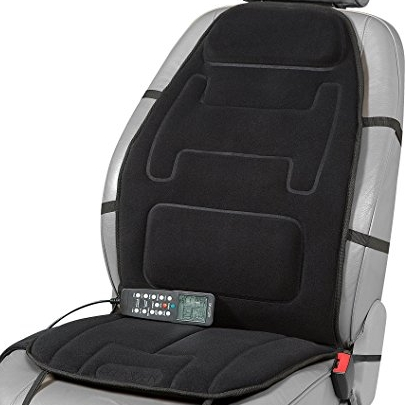 Relaxzen 10 Motor Heated Massage Cushion