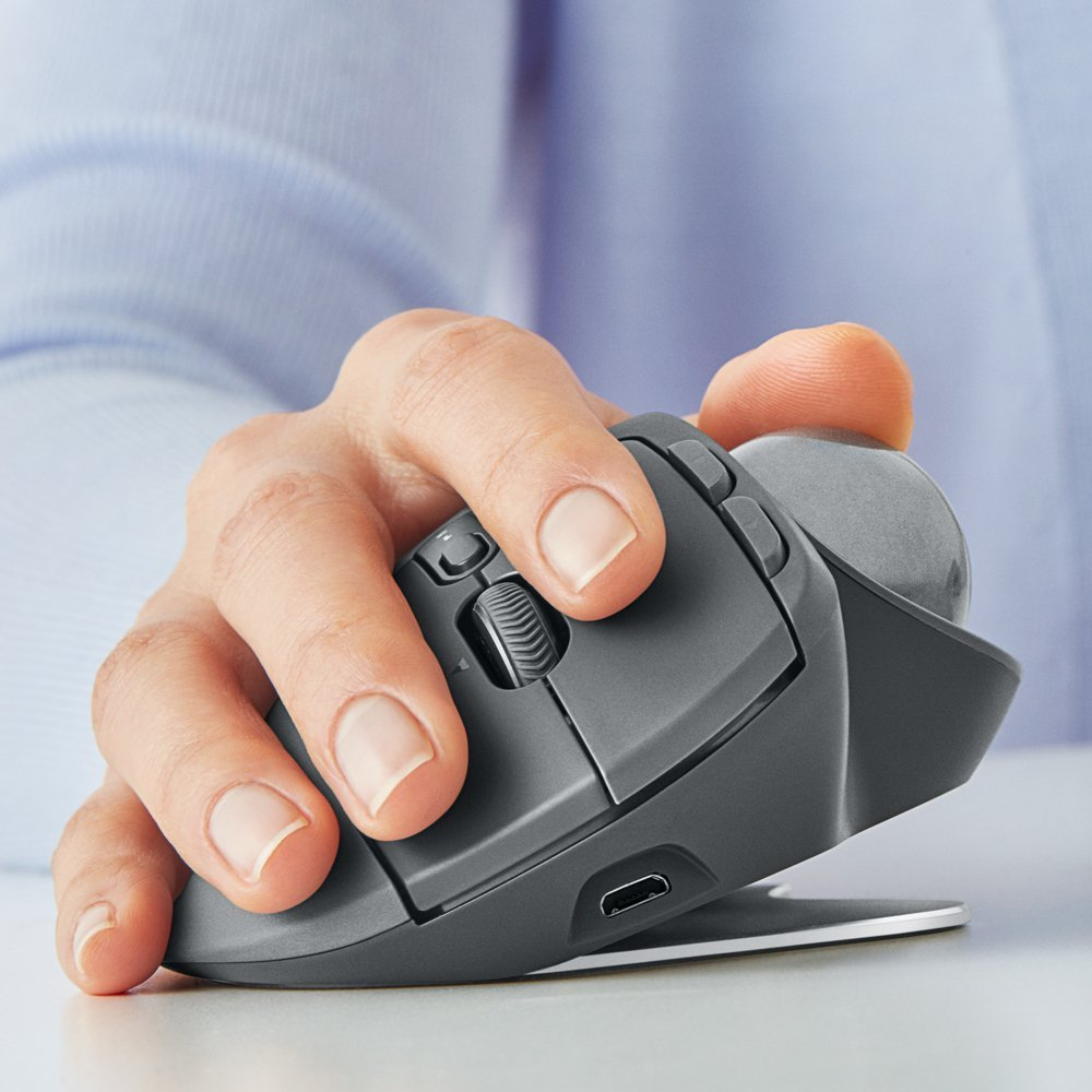 Logitech MX ERGO Plus Trackball Mouse