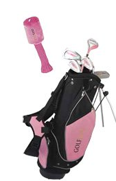 Golf Girl Pink Junior Golf Club Set