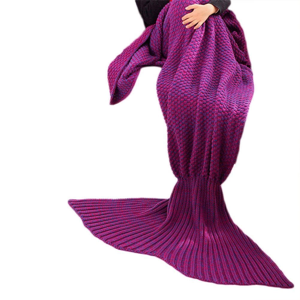 Kpblis Blanket Kid's Mermaid Tail