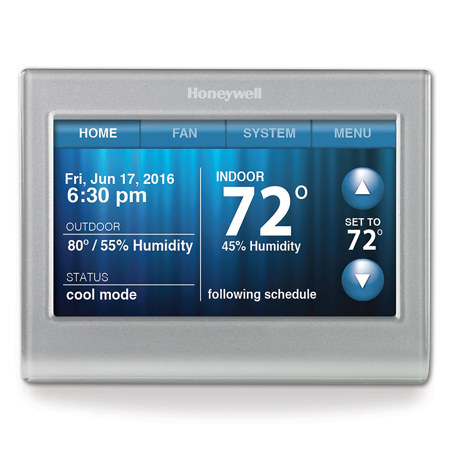 Honeywell Smart 7-Day Programmable Thermostat With Wi-Fi And Touchscreen – Available with Smart Consultation
