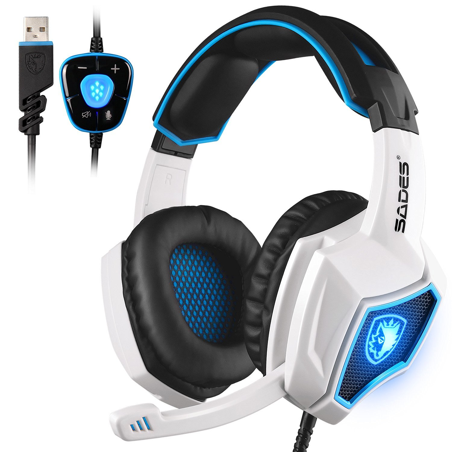 Sades Spirit Wolf Gaming Headset