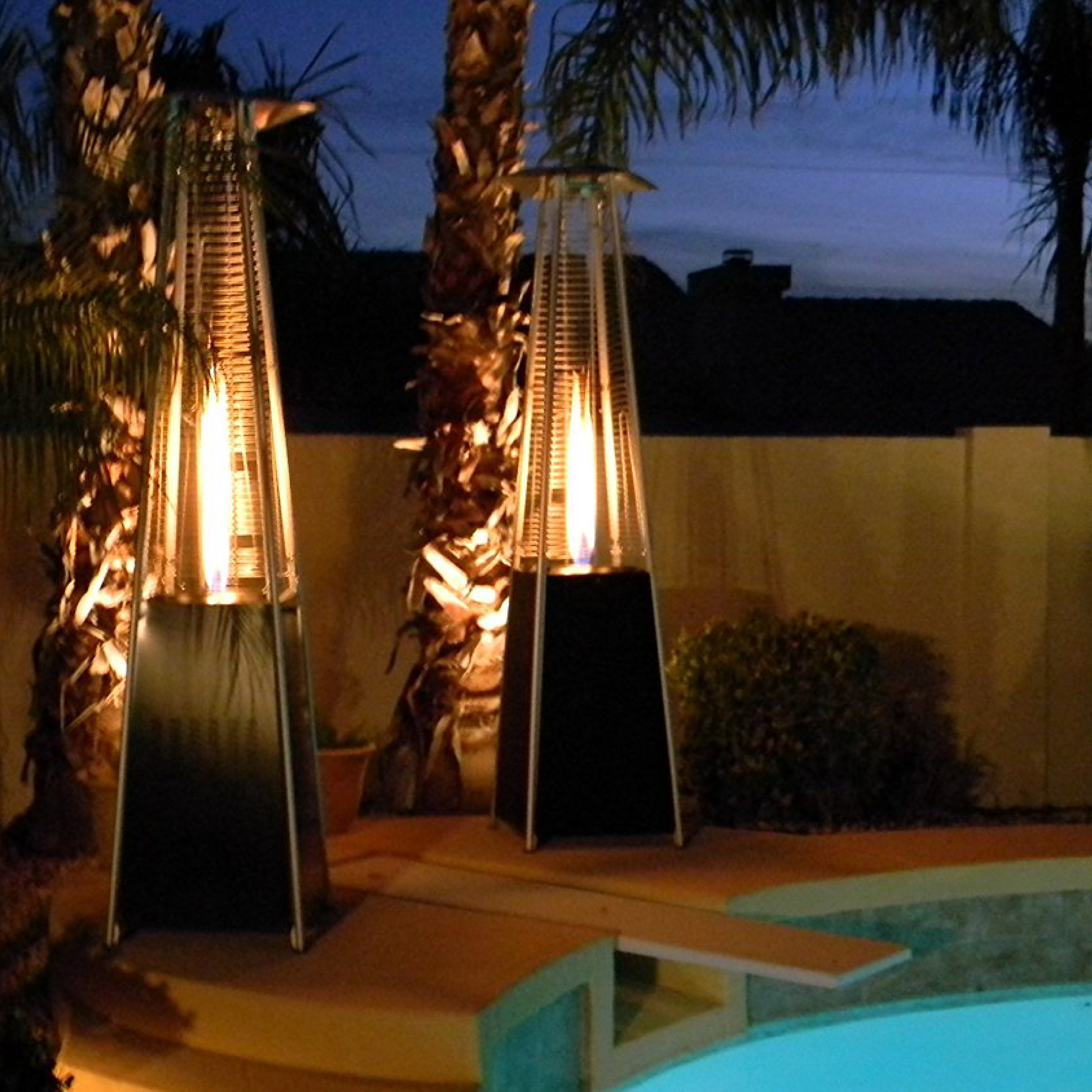 AZ Patio Heaters Tabletop Tube Propane Heater