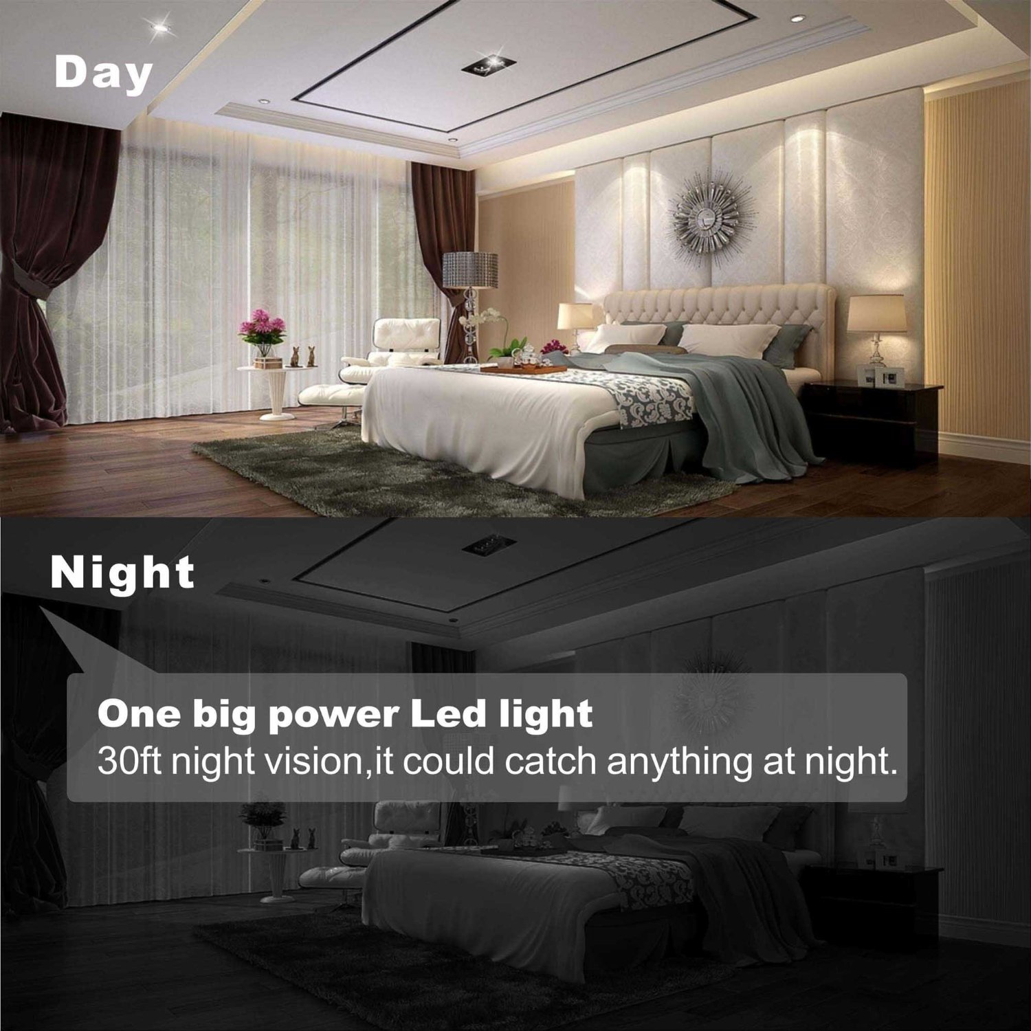 Conbrov® Knightcam HD Wireless Indoor Security IP Camera